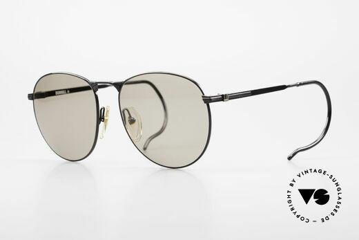 Dunhill 6044 Vintage Panto Sonnenbrille Details
