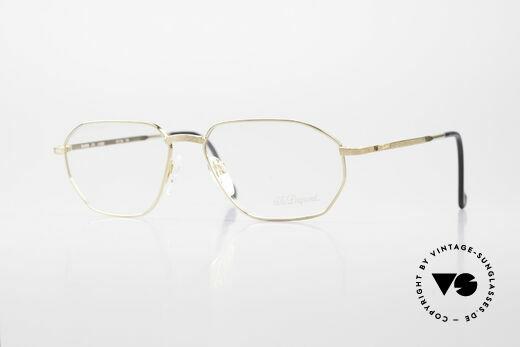 S.T. Dupont D059 Luxus Brillen Fassung Herren Details