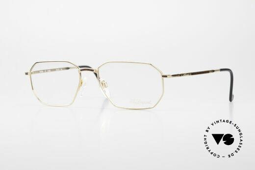 S.T. Dupont D050 90er Luxusbrille 23KT Vergoldet Details