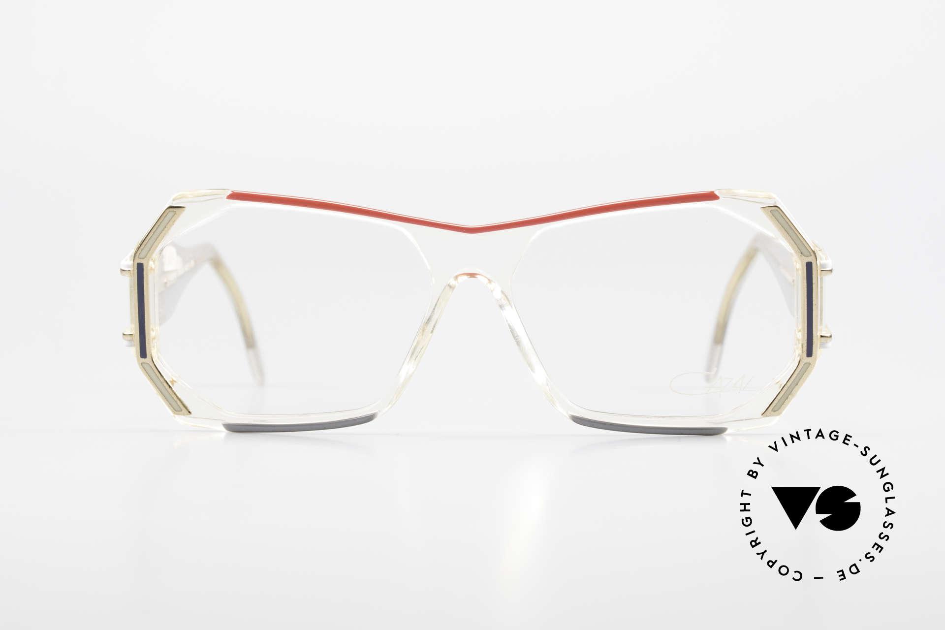 Cazal 182 80er HipHop Old School Brille, damals fester Bestandteil der US HIP-HOP Szene, Passend für Herren und Damen