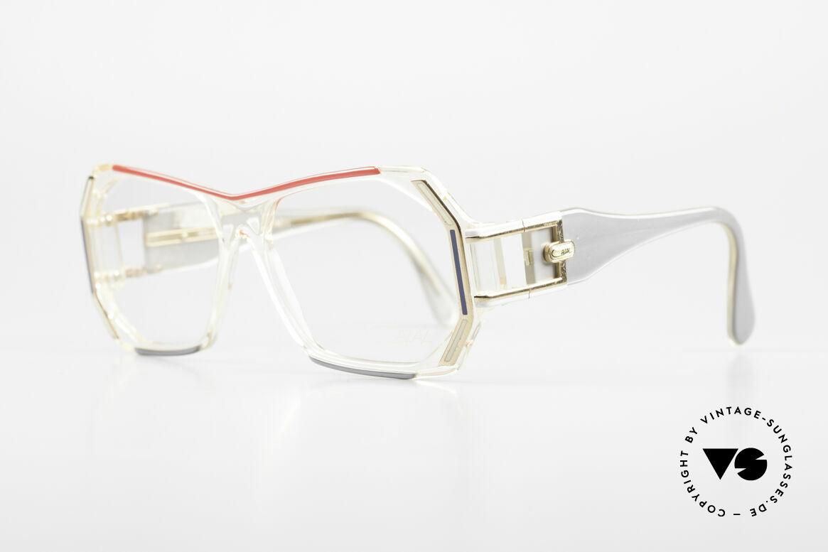 Cazal 182 80er HipHop Old School Brille, sehr massives Design von CAri ZALloni (Mr. Cazal), Passend für Herren und Damen