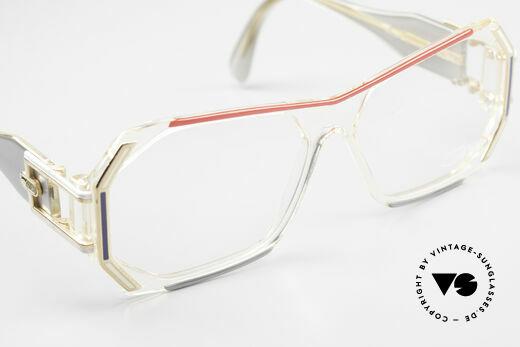 Cazal 182 80er HipHop Old School Brille, KEINE Retrobrille; sondern ein 35 Jahre altes Unikat, Passend für Herren und Damen