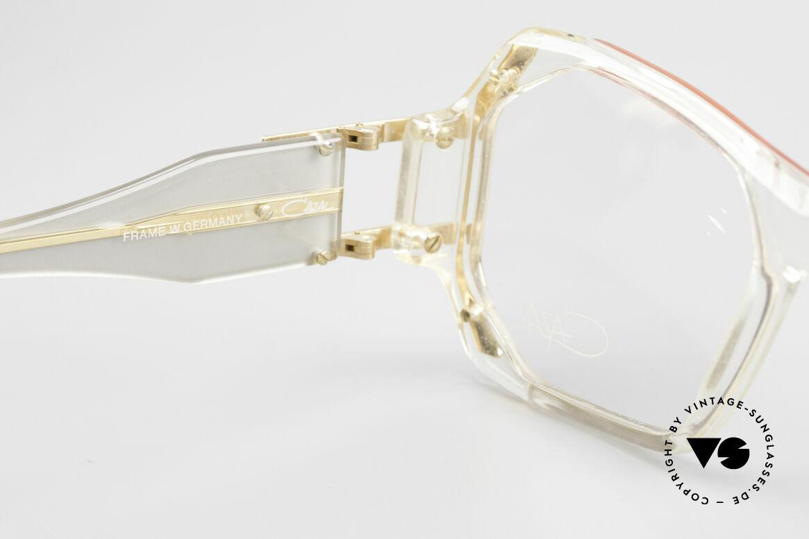 Cazal 182 80er HipHop Old School Brille, Größe: medium, Passend für Herren und Damen