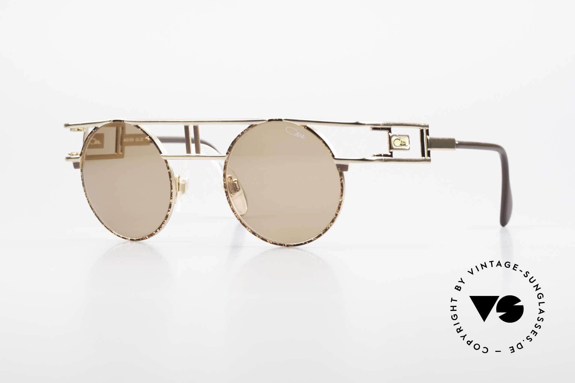 Cazal 958 90er Cazal Promi Vintage Brille, berühmte vintage Cazal Designerbrille von 1991, Passend für Herren und Damen
