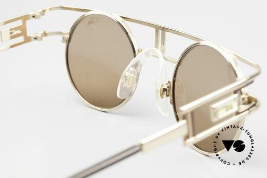 Cazal 958 90er Cazal Promi Vintage Brille, orig. Sonnengläser mit Cazal-Logo (100% UV prot.), Passend für Herren und Damen