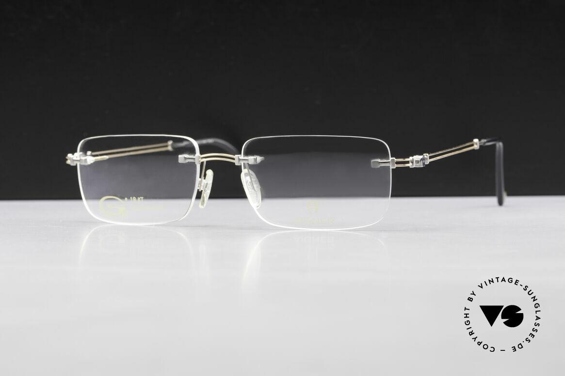 """Aigner EA496 Randlose 90er Vintage Brille, Markenbrille, wirklich noch """"made in Germany"""" Qualität, Passend für Herren"""