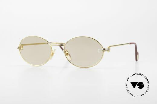 Cartier Saint Honore - S Ovale 90er Luxus Sonnenbrille Details
