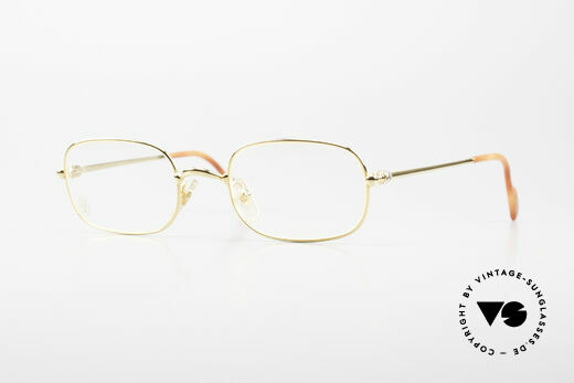 Cartier Deimios Rare Luxus Brillenfassung 90er Details