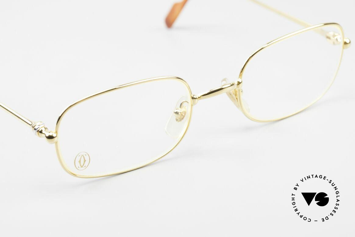 Cartier Deimios Rare Luxus Brillenfassung 90er, ungetragenes Einzelstück inkl. orig. Cartier Zubehör, Passend für Herren und Damen