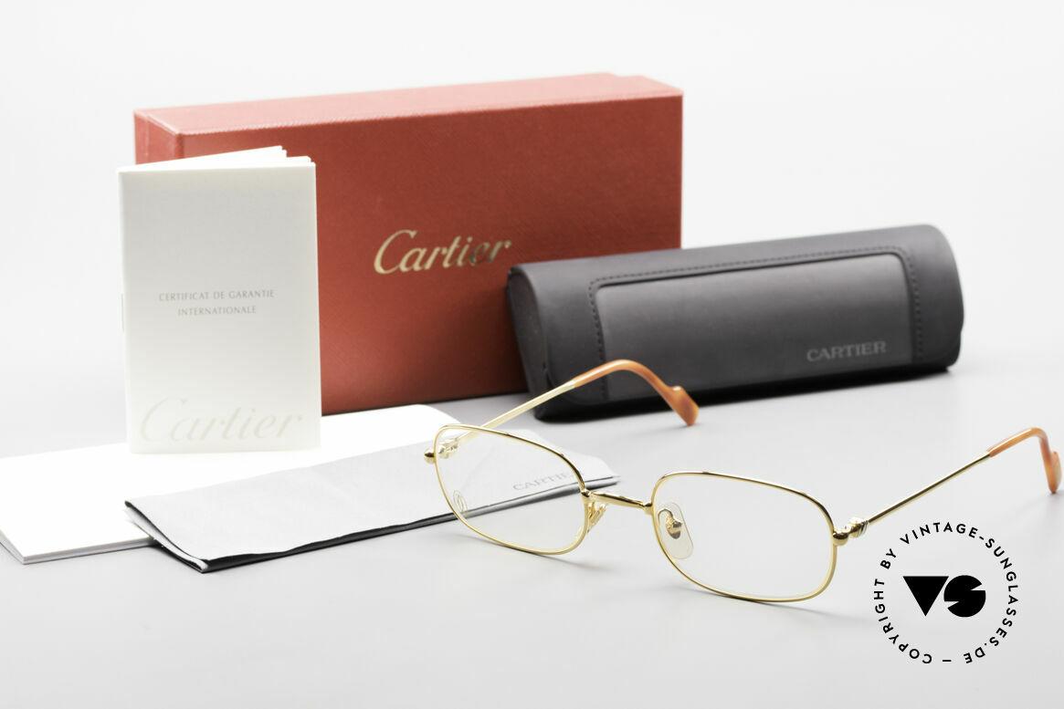 Cartier Deimios Rare Luxus Brillenfassung 90er, Größe: medium, Passend für Herren und Damen