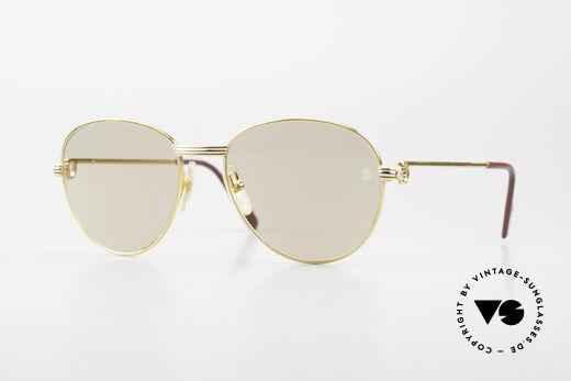 Cartier S Brillants 0,20 ct 80er Diamanten Sonnenbrille Details