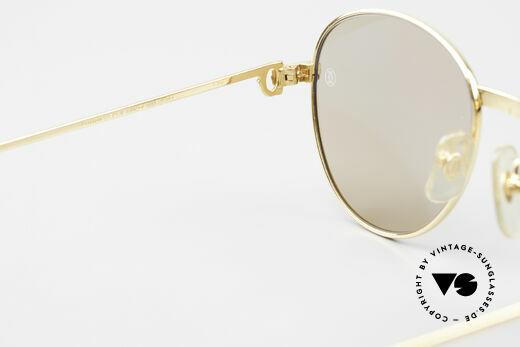 Cartier S Brillants 0,20 ct 80er Diamanten Sonnenbrille, KEINE RETROMODE; ein 30 Jahre altes ORIGINAL!, Passend für Damen