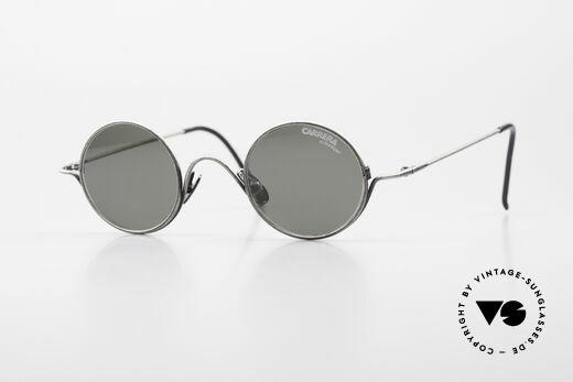 Carrera 5790 Kleine Runde Vintage Brille Details