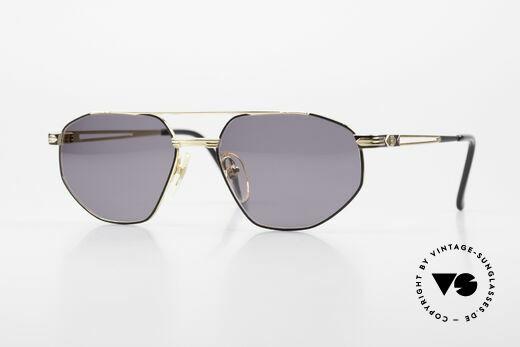 Roman Rothschild R1061 Vergoldete Sonnenbrille Luxus Details