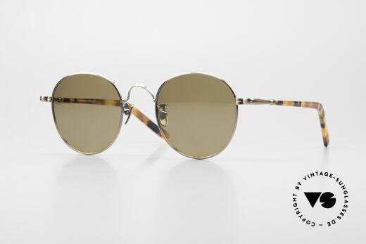 Lunor VA 111 Panto Sonnenbrille Polarized Details