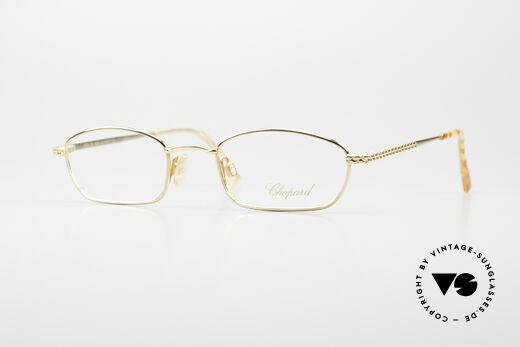 Chopard C052 Vintage Damenbrille Luxus Details