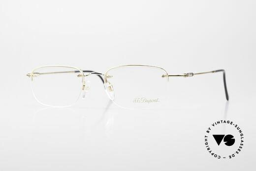 S.T. Dupont D523 Randlose Brille 2000er Avance Details