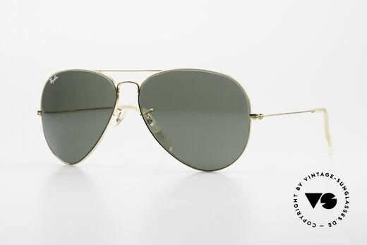 Ray Ban Large Metal II 80er B&L USA Sonnenbrille Details