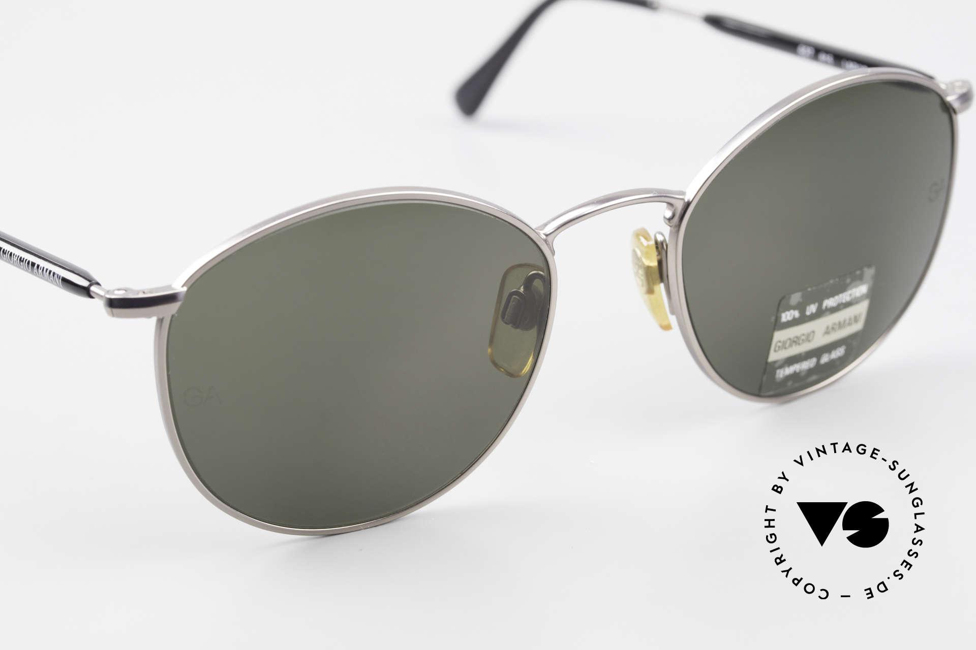 Giorgio Armani 627 Vintage Panto Sonnenbrille, ungetragen (wie alle unsere vintage Sonnenbrillen), Passend für Herren und Damen