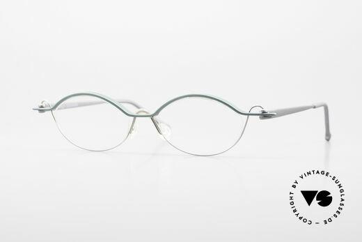 ProDesign No25 Gail Spence Aluminium Brille Details