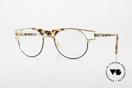 Cazal 244 90er Vintage Brille Panto Stil Details