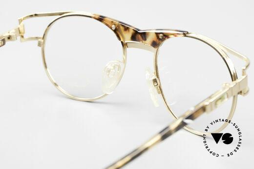 Cazal 244 90er Vintage Brille Panto Stil, die DEMO-Gläser können beliebig ersetzt werden, Passend für Herren und Damen