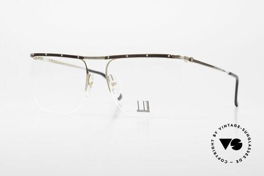 Dunhill 6056 Alte Horn Brille 80er Vintage Details