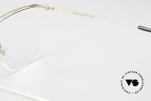 Dunhill 6056 Alte Horn Brille 80er Vintage, KEINE retro Brille, sondern ein altes ORIGINAL, Passend für Herren
