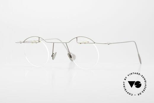 Paul Chiol 02 Randlose Brille Bauhaus Stil Details