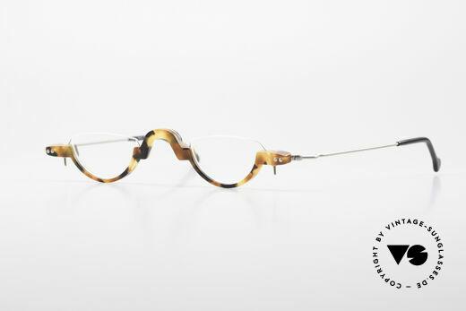 MDG Bauhaus 5010 Minimalistische 90er Lesebrille Details