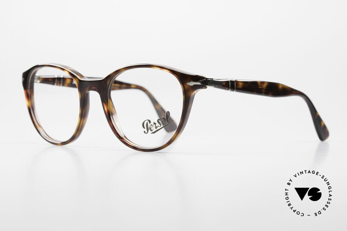 Persol 3153 Zeitlose Panto Unisex Brille, ungetragen (wie alle unsere Persol vintage Brillen), Passend für Herren und Damen