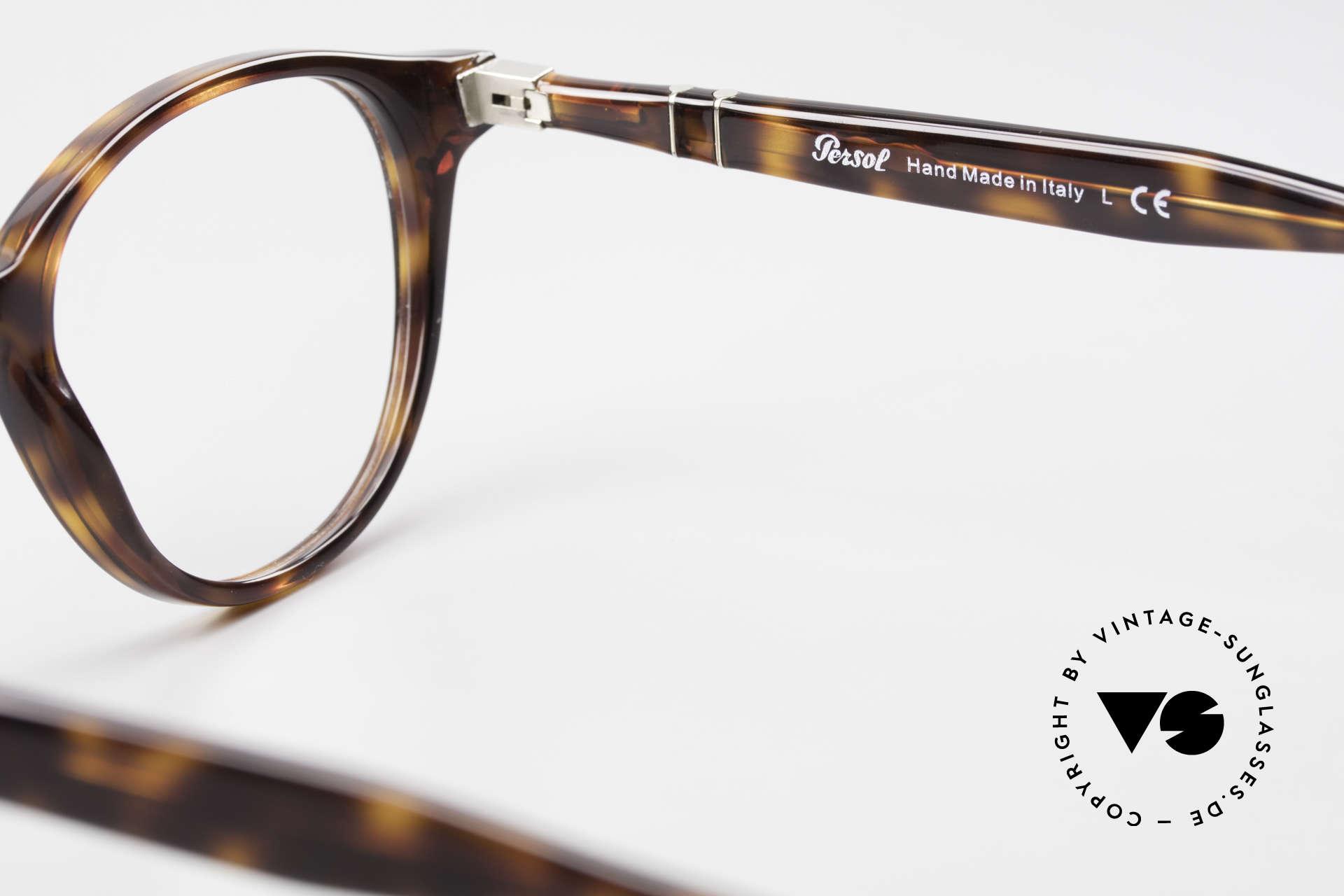 Persol 3153 Zeitlose Panto Unisex Brille, original Name: 3153-V, col. 24 in Größe 50-20, 145, Passend für Herren und Damen