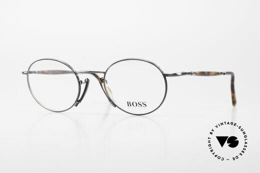 BOSS 4707 Runde Panto Stil Brille 90er Details