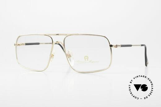 Aigner EA23 Echt 80er Luxus Brillenfassung Details
