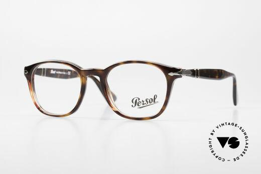 Persol 3122 Klassische Brille Eckig Panto Details