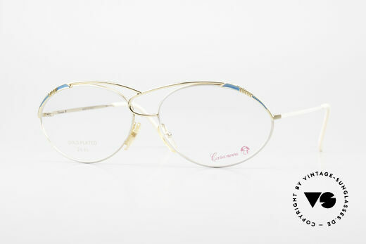 Casanova LC13 24kt Vergoldete Vintage Brille Details
