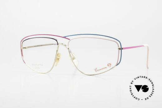 Casanova CN24 24kt Vergoldete Damen Brille Details