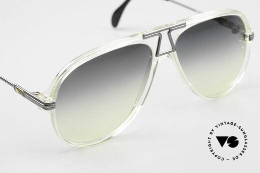 Cazal 622 Alte 80er West Germany Cazal, Sonnengläser in grau/gelb-Verlauf; 100% UV Protection, Passend für Herren