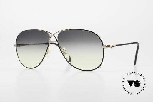 Cazal 728 Designer Piloten Sonnenbrille Details