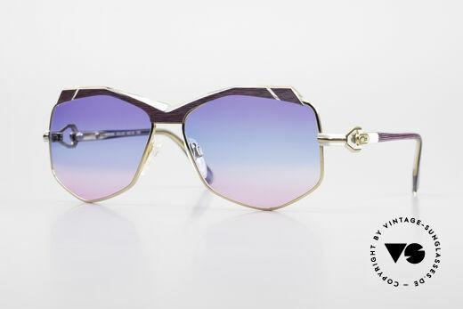Cazal 230 Bunte Cazal Sonnenbrille 80er Details