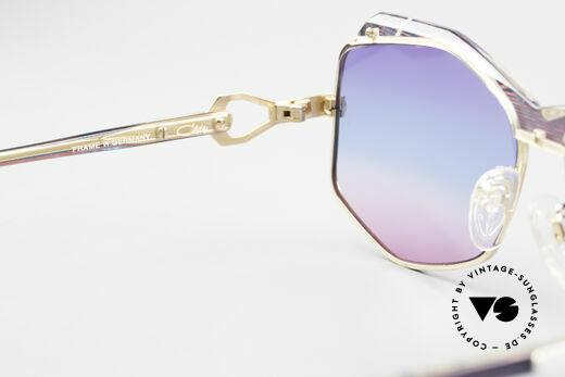 Cazal 230 Bunte Cazal Sonnenbrille 80er, KEINE Retrobrille; ein 35 Jahre altes Original, Passend für Damen