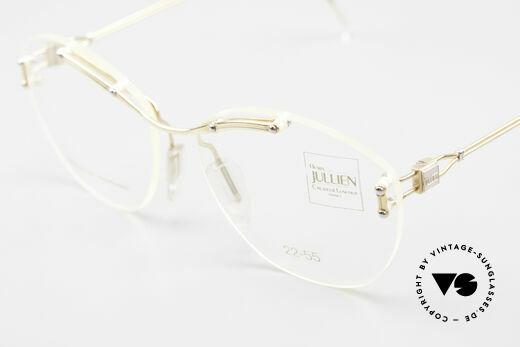 Henry Jullien Melrose 2255 Randlose Vintage Damenbrille, KEIN Retro; ein echtes altes Original von ca. 1994, Passend für Damen