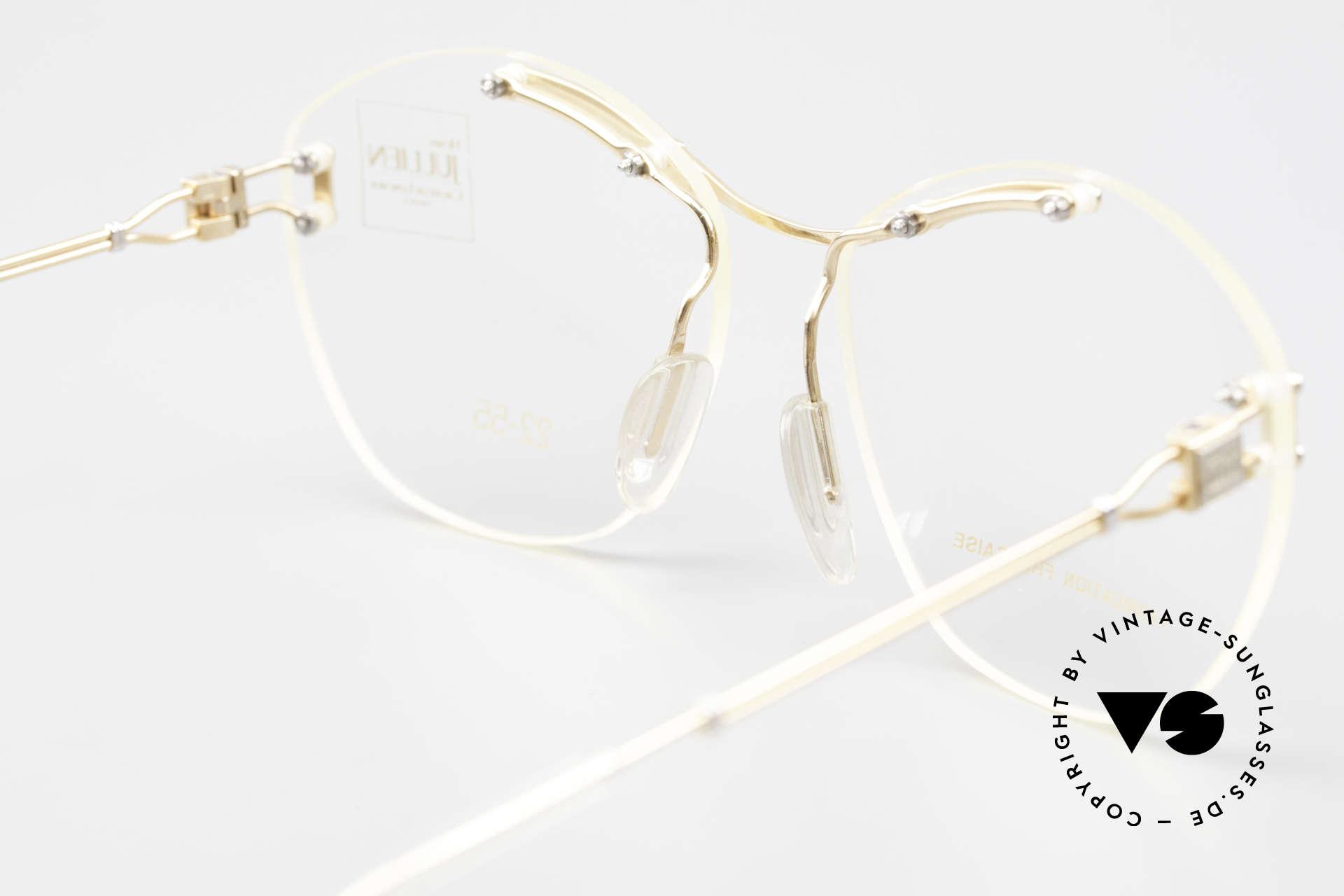 Henry Jullien Melrose 2255 Randlose Vintage Damenbrille, Größe: small, Passend für Damen