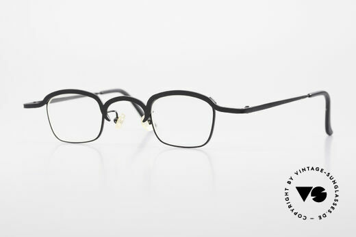 Theo Belgium Armes 90er Jahre Theo Brille Metall Details