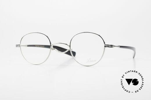 Lunor Swing A 32 Panto Vintage Brille Mit Schwing Steg Details