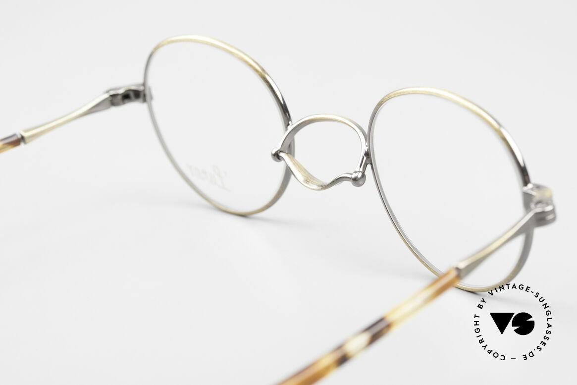 Lunor Swing A 32 Panto Vintage Brille Mit Schaukelsteg, Größe: small, Passend für Herren und Damen