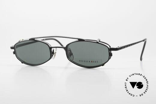 Freudenhaus Ita Titaniumbrille Mit SonnenClip Details