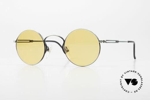Jean Paul Gaultier 55-0172 Runde 90er Vintage Brille JPG Details