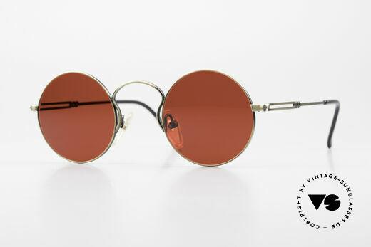 Jean Paul Gaultier 55-0172 Designer Sonnenbrille 3D Rot Details