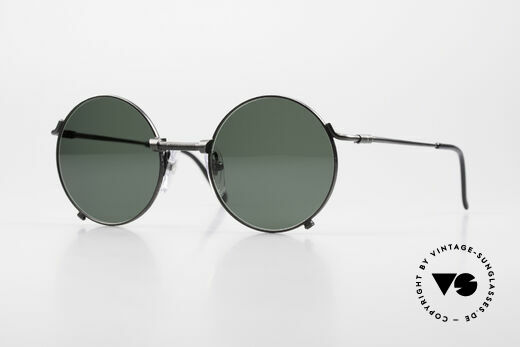 Jean Paul Gaultier 55-7162 Runde Vintage Sonnenbrille Details